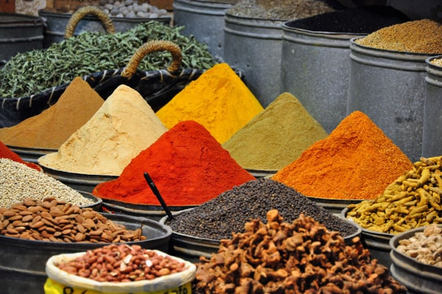 mixture of spices in tangier