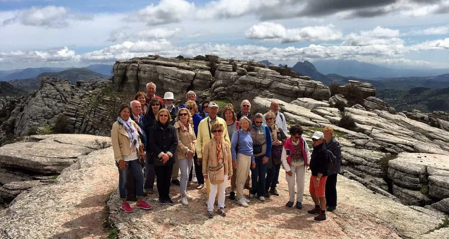 torcal with toma & coe tour group