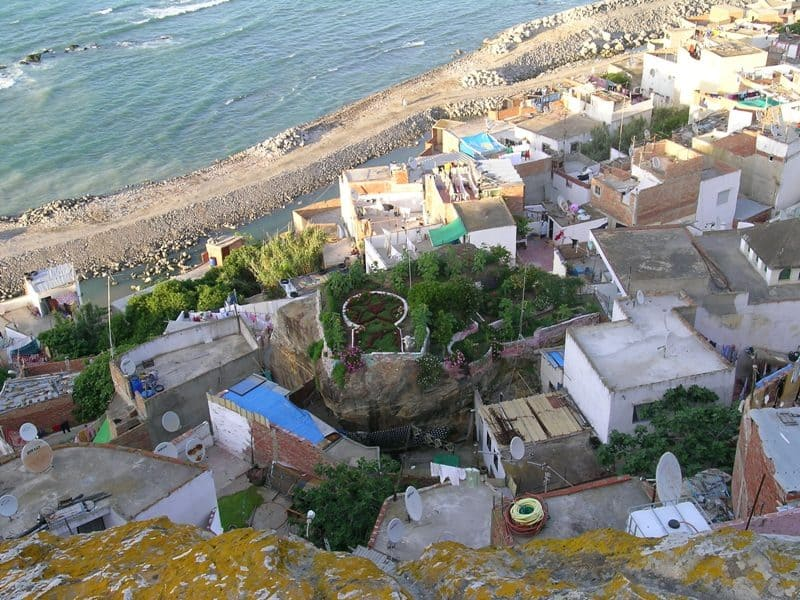 medina coast in tangier