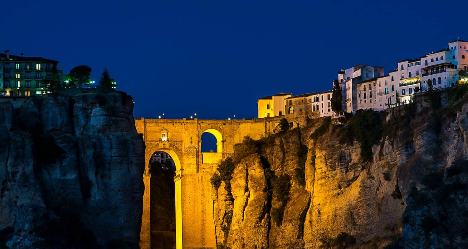 ronda & the gorge at night bespoke tours