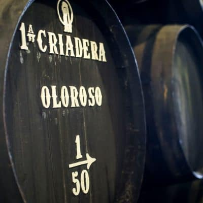 criadera sherry barrel
