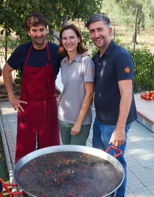 cooking black rice in malaga spain