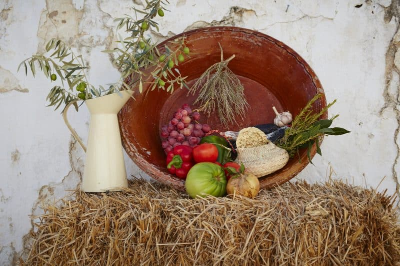 Fresh fruit and veg in Andalucia