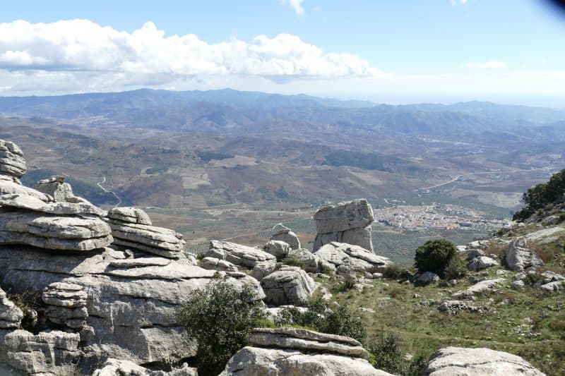 Mountain view from El Torcal