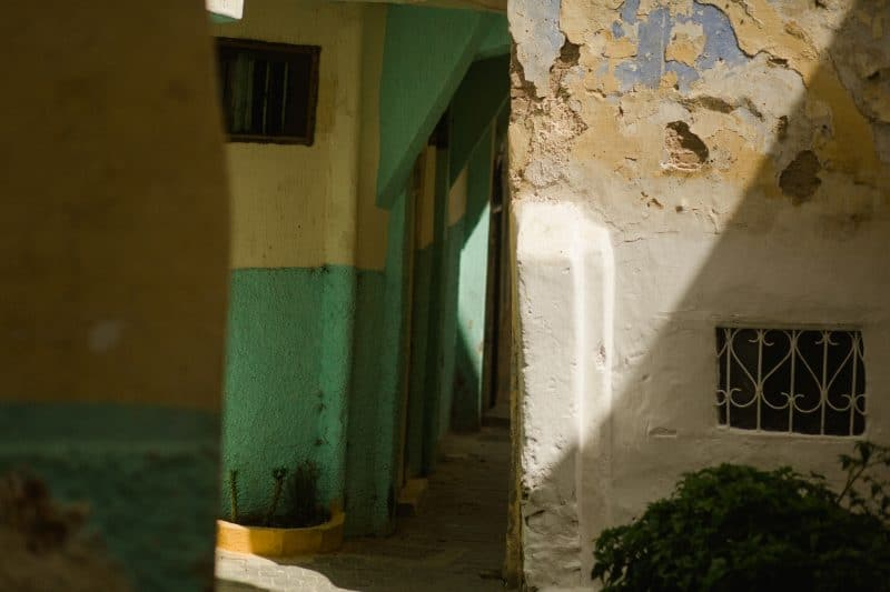 Streets of Tangier Morocco