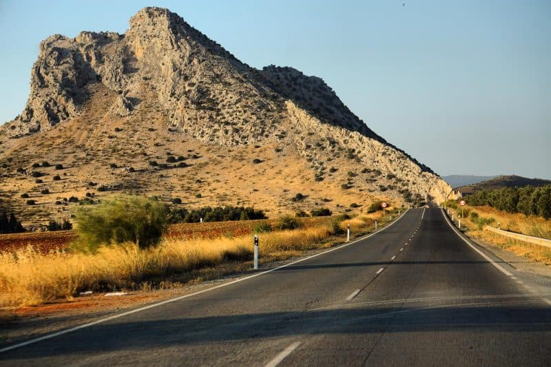 Road to Archidona from Antequera