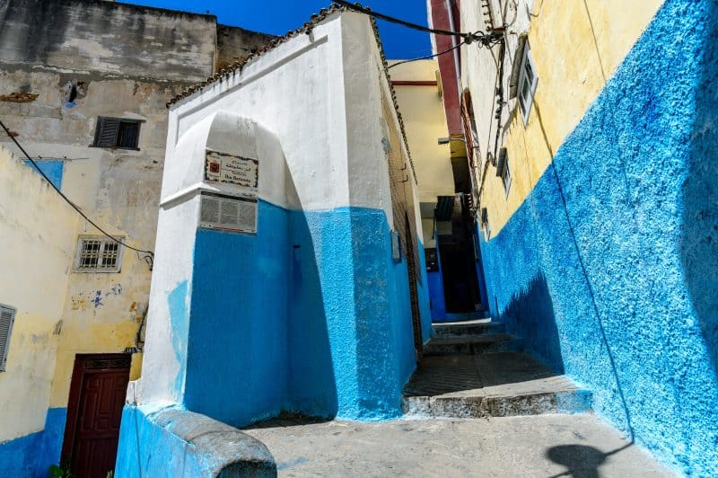 The streets of Tangier