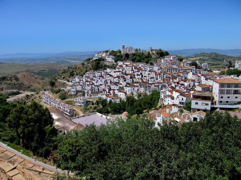 Casares in the sunshine
