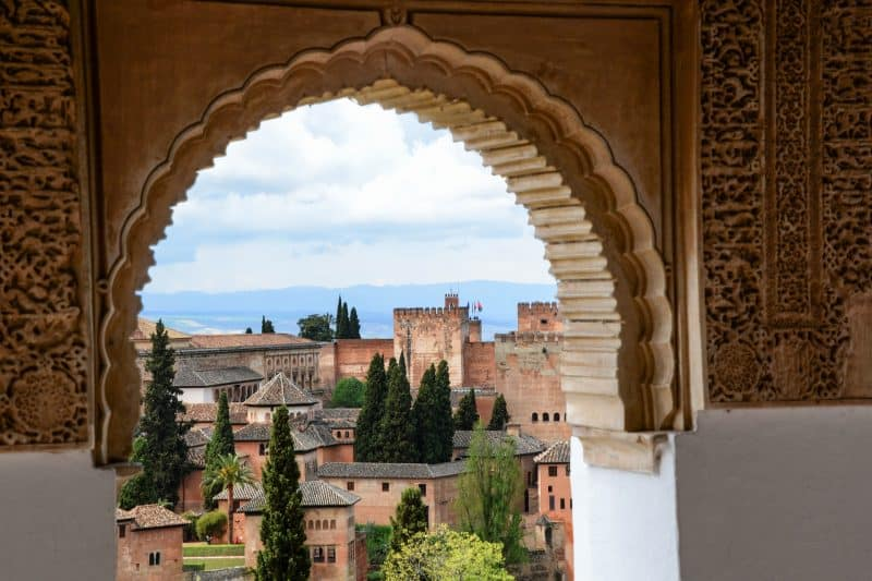 Views from the Alhambra Palace