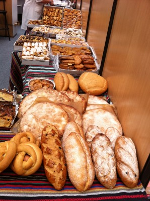 Bread and pastries in Andalusiaº